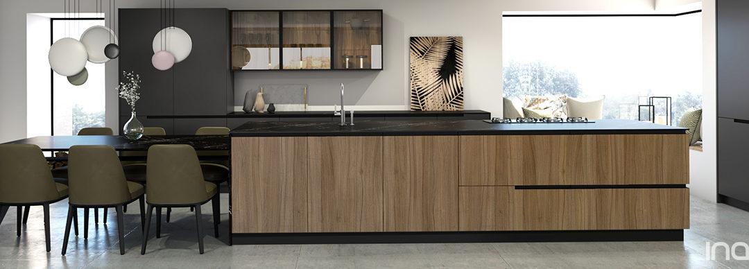 Novedades en muebles de cocina serie Onyx